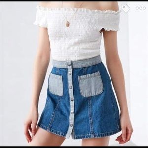Urban Outfitters BDG High Waist Denim Skirt size 8